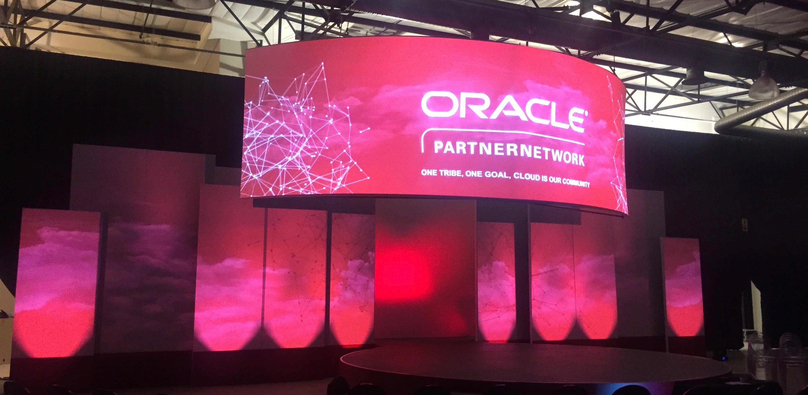 Oracle Partner Network - Circular projection & Mapping